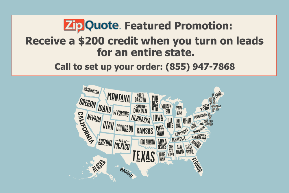 ZipQuote Lead State Promotion