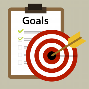 set goals to be a successful agents
