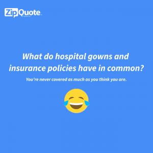 insurance joke zipquote