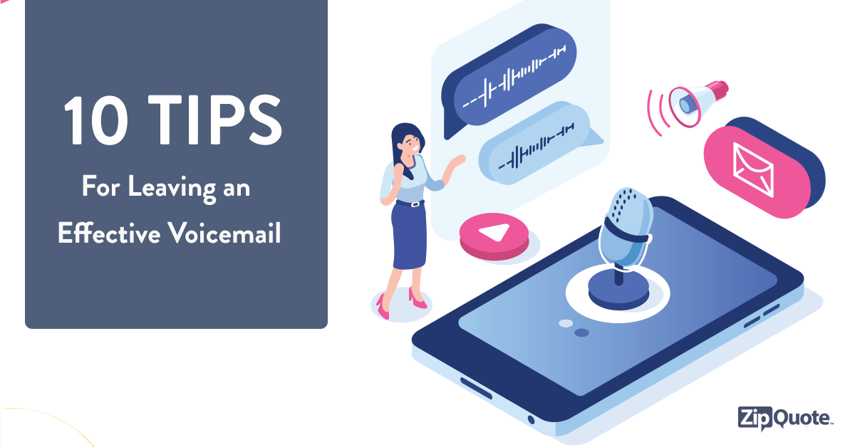 10 voicemail tips zipquote