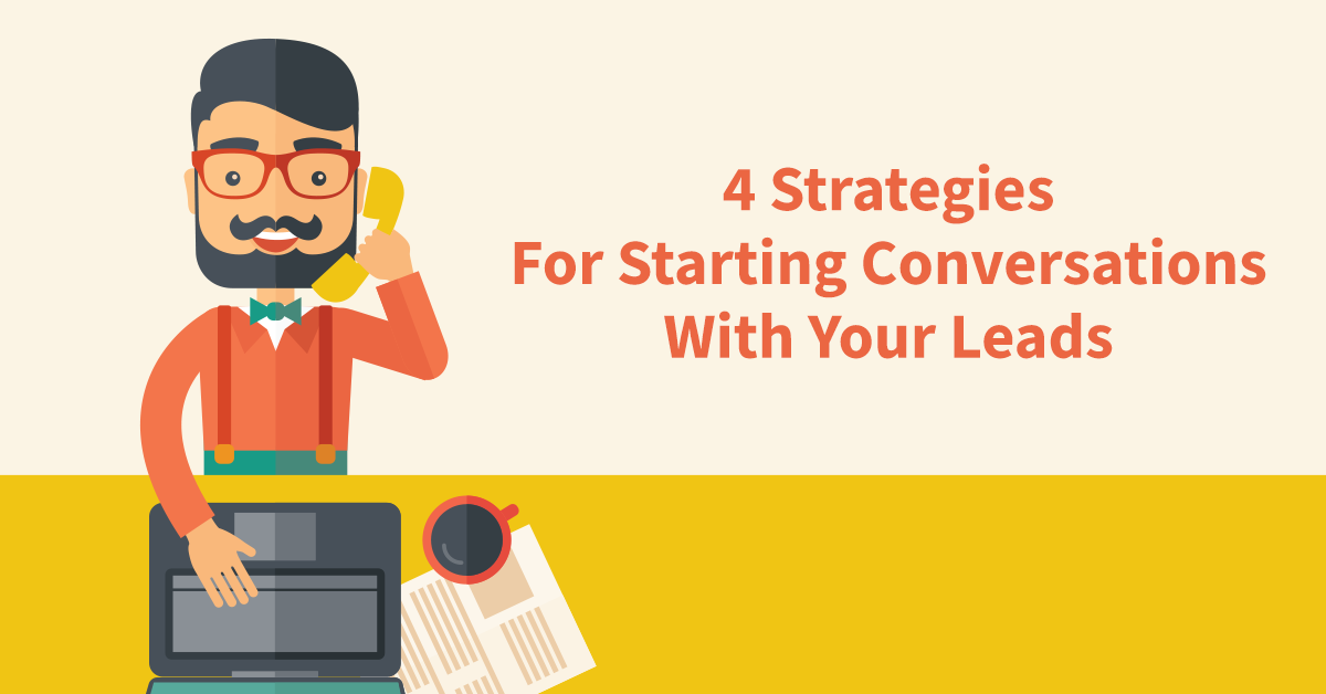 starting conversations with leads