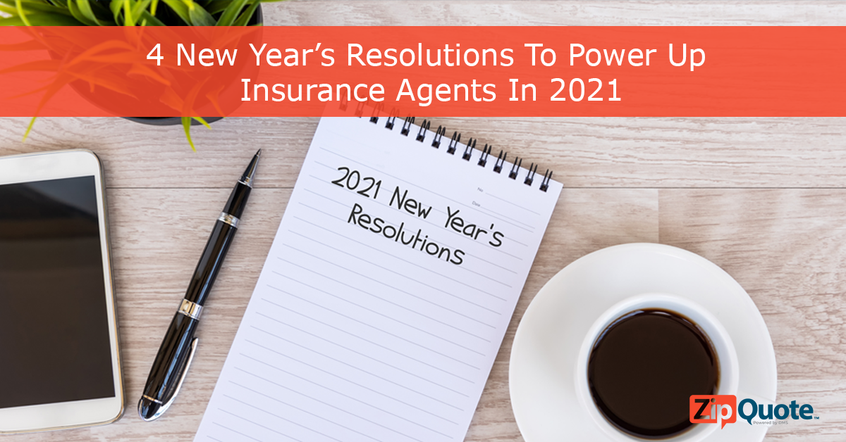 sales process new year's resolutions for insurance sales agents in 2021