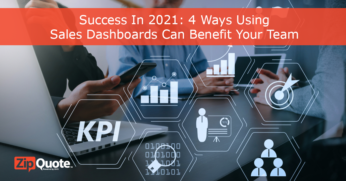 find success in 2021 by seeing how sales dashboards can benefit your team
