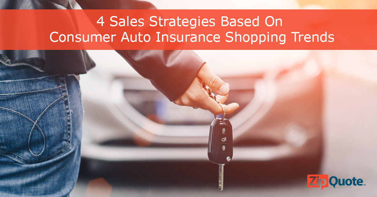 sales strategies based on consumer auto insurance trends