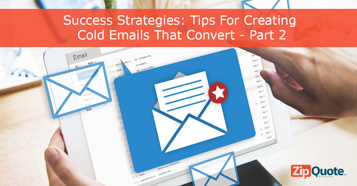 email marketing how to create cold emails that convert with ZipQuote