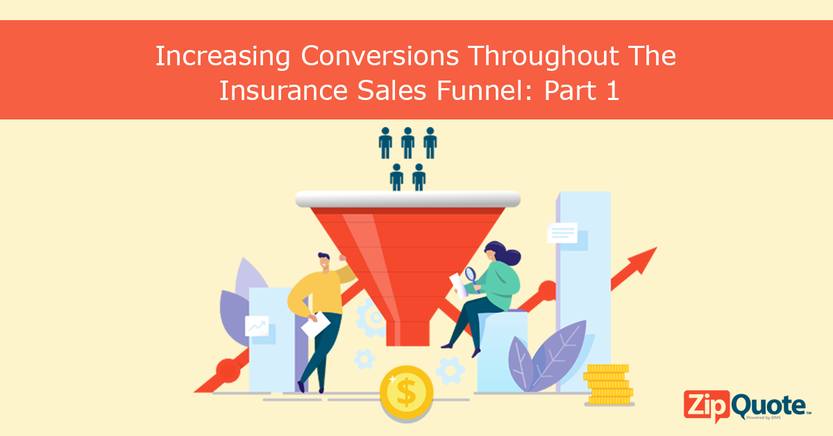 ZipQuote sales funnel process part 1