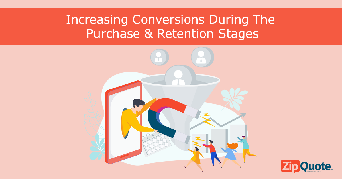 Increasing conversions during the purchase and retention stages of the insurance sales funnel by ZipQuote